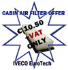 Price Offer 2015051-IVECO Cabin Air Filter